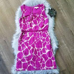 Ann Taylor 100% Cotton Sleeveless Dress 8 Tall